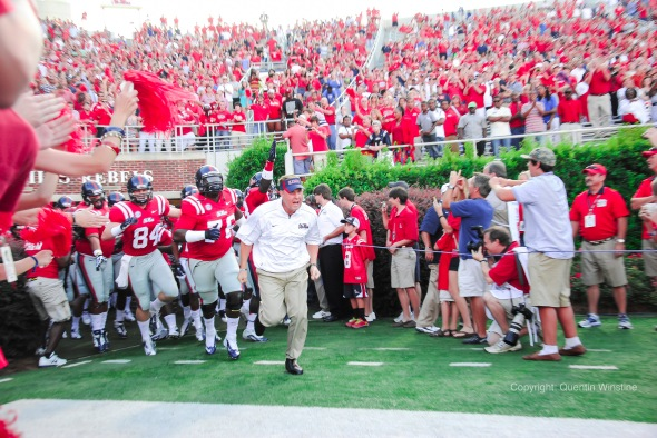 Ole Miss-UTEP, Hugh Freeze and Team 2