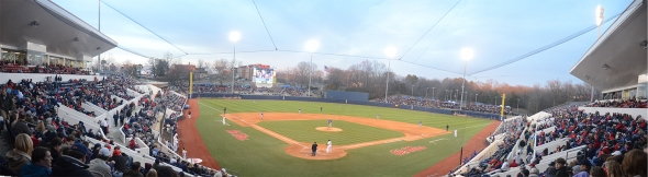 Panoramic of Swayze Field