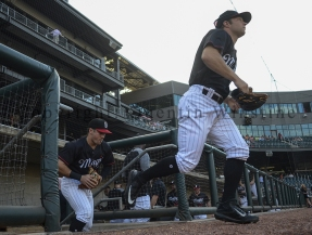 Photo by Quentin Winstine The Birmingham Barons host the Jackson Generals in the second game of a five game series at Regions Field in Birmingham, Alabama, on July 19, 2018.